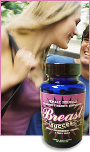 Breast Success all natural Breast Enlargement Pills will help you enlarge your breasts naturally without expensive and painful surgery.